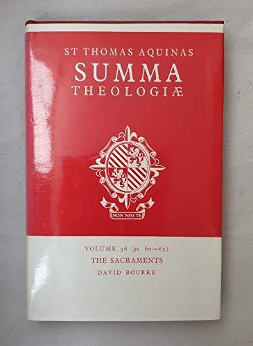 Download Summa Theologiae: The Sacraments v. 56 0413355608