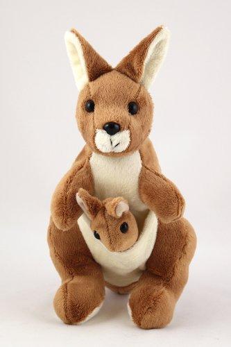 Kangaroo soft toy (with joey)