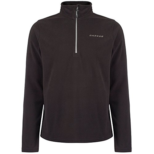 Dare 2b Freeze Dry II Fl Polaire Homme Ebony Grey FR : L (Taille Fabricant : L)