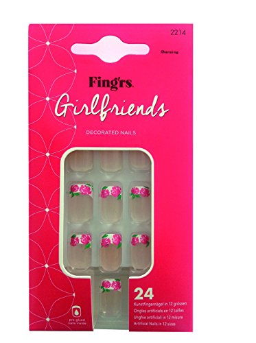 Fing'rs Girlfiend Nails Charming, 1 unidad (24 unidades)