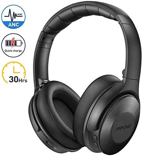 Mpow H17 Auriculares con Cancelación de Ruido, Cascos Bluetooth Diadema con Carga...