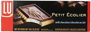 LU Cookies Le Petit Ecolier, The Little Schoolboy, Milk Chocolate, 5.29-Ounce Boxes (Pack of 4)