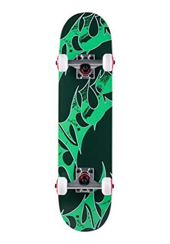 TITUS Skateboards-Complete Triple Schranz Micro Kids, Green, 6.5, Komplett Board, Holzboard aus 6 Schichten Ahornholz, bereits fertig montiert, Anfänger, für Kinder, Mädchen und Junge
