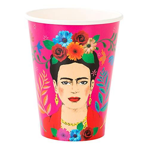Talking Tables Boho Mix Tasse, papier, Multicolore, 12oz (12 Pack)