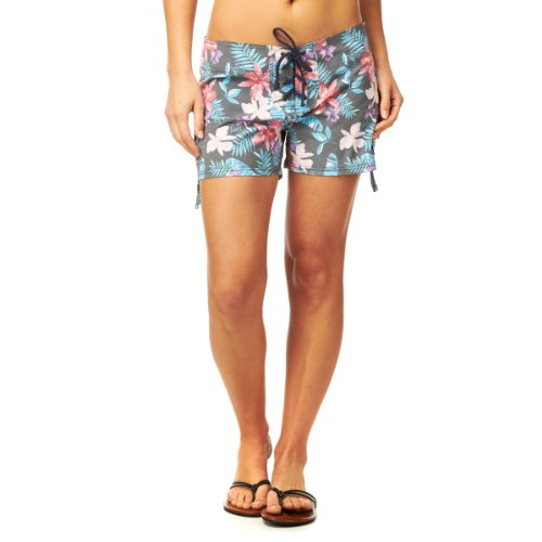 Roxy diseño de Surf Mid-Pantalón Corto para Mujer Nvy Multi Hawai Talla:S