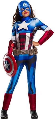 Captain america costume girl _image1