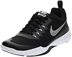 Nike- Legend Trainer Black/Metallic Silver White Size 11.5 MD
