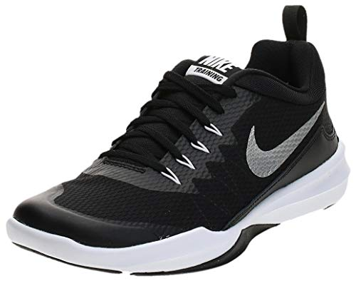 Nike Legend Trainer Men's Training/Running Shoes (9, Black/Metallic Silver-White)