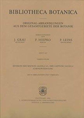 Revision der Sektion Salsola S.L. der Gattung Salsola (Chenopodiaceae) (Bibliotheca Botanica)