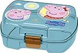 Peppa Pig 2004 rechteckiger rechteckiger Sandwich Maker Kunststoffprodukt; BPA frei; Abmessungen 18x14x7 cm