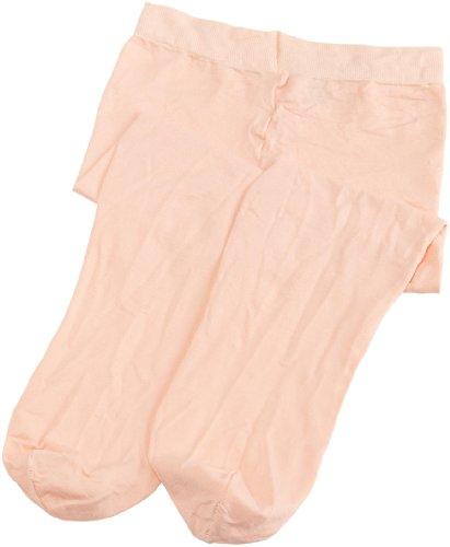 Danskin - Mallas con pies para niñas, Rosa ballet, Medium (8/10) US