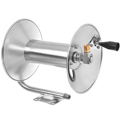 Hochdruck Schlauchtrommel INOX Edelstahl 350bar für 15m Schlauch für Kärcher HD HDS Hochdruckreiniger