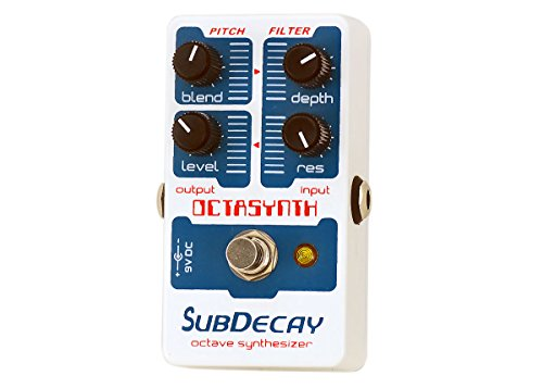 Subdecay Octasynth Octave Synthesizer Pedal