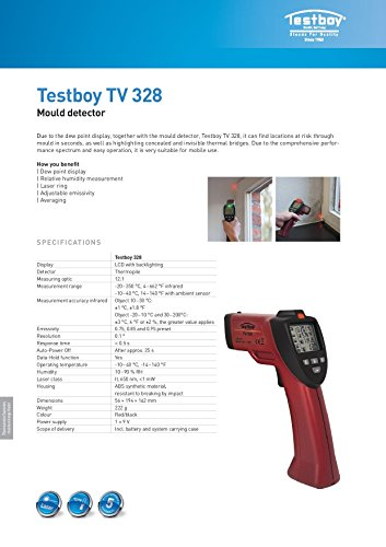 Testboy TV Taupunktermittlung, 2220328