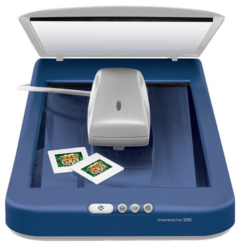 Learn More About Epson Perfection 1250 Photo Flatbed Scanner