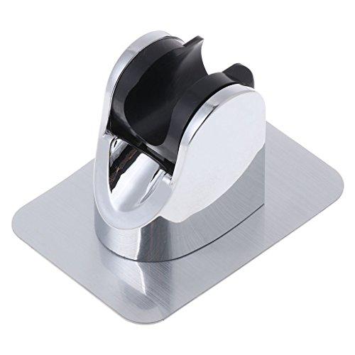Chenso Titular de la Cabeza Ajustable Sin Soporte de perforación Montaje Ducha de Mano Etiqueta Adhesiva