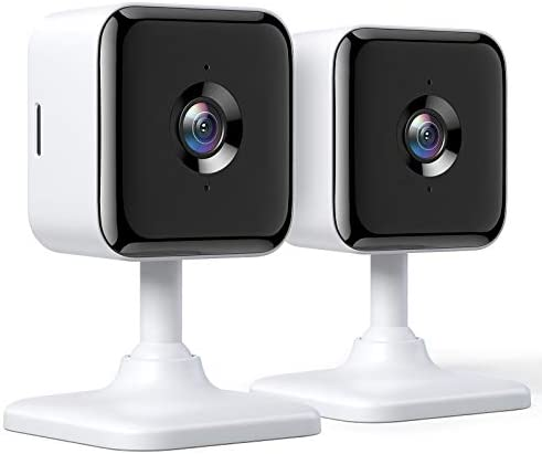Teckin Cam 1080P FHD Indoor Wi Fi Smart Home Security Camera with Night Vision 2 Way Audio Motion product image