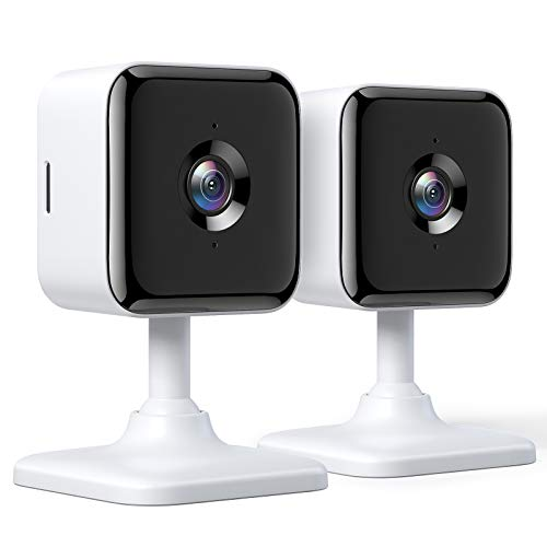 Teckin Cam 1080P FHD Indoor Wi-Fi Smart Home Security Camera with Night Vision, 2-Way Audio, Motion Detection, Omnidirection for Baby/Pet/Nanny/Elderly, Works with Alexa & Google Home, 2 Packs. Buy it now for 39.99