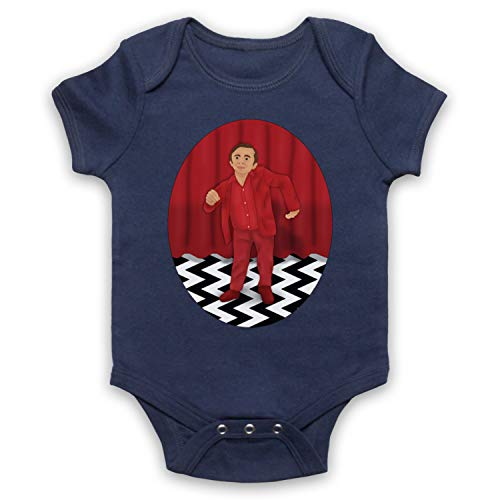 Inspired Apparel Inspirado por Twin Peaks The Man from Another Place Red Room Dancing Dwarf No Oficial Bebé Body