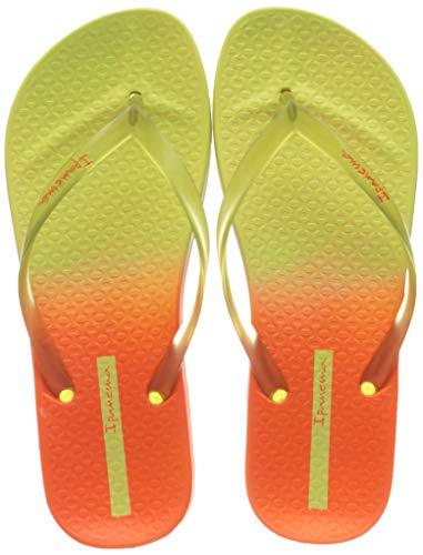 Ipanema Colorful Fem, Slide Mujer, Amarillo y Naranja, 39 EU