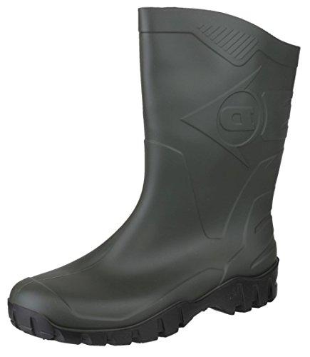 Dunlop Dee, Botas de Caucho Unisex, Verde (Green 001), 39