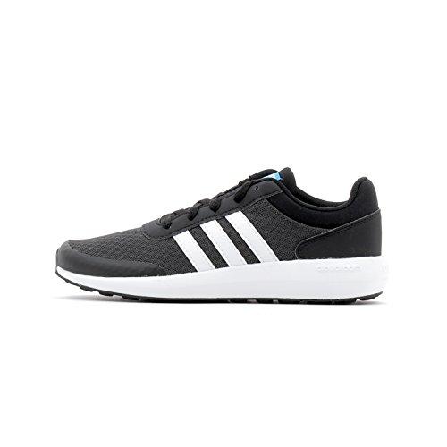 adidas CF Race K, Scarpe da Fitness Unisex-Bambini, Nero (Neguti/Ftwbla/Negbas), 38 EU