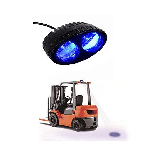 SXMA blauer Punkt-Arbeitslampe Fußgänger-sicheres warnendes blaues Licht Lager-Gabelstapler des 8W LED Offroadrennenlampe / Stapler-Sicherheitslicht / LKW-Sicherheitsanzeige SL6208