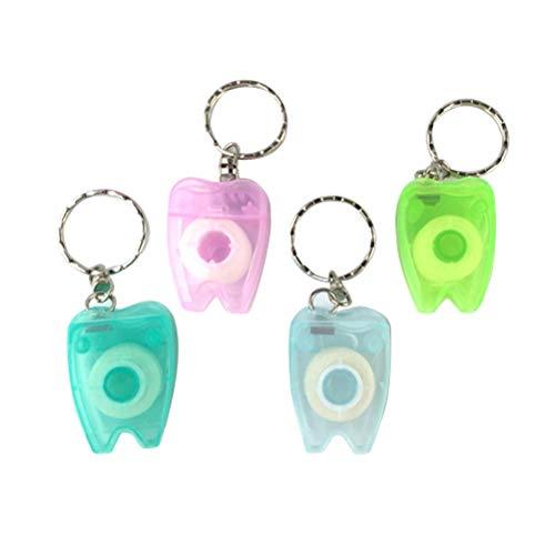 Healifty selección de hilo dental 4pcs 15M Dental Floss...