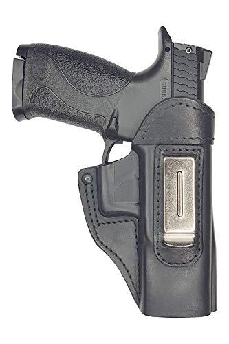 VlaMiTex IWB 4 Holster en Cuir pour Smith & Wesson M&P 9 40 45