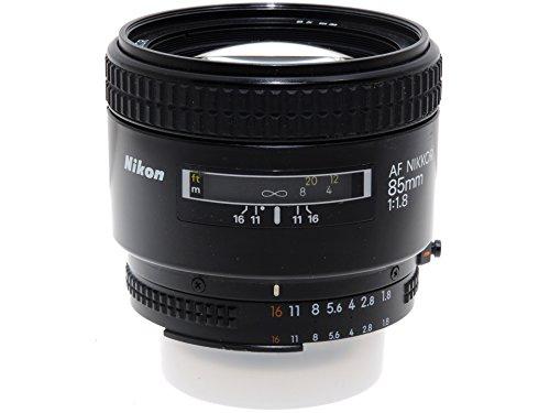 Telón Objetivo 85 mm f1,8 autoenfoque para cámaras Nikon AF.