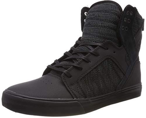 Supra Unisex-Erwachsene Skytop Hohe Sneaker, Schwarz (Black/Dk Grey-Black 033), 41 EU