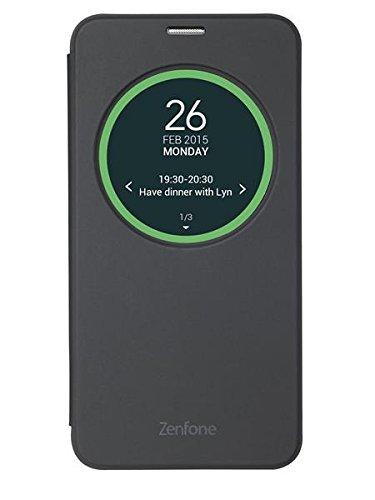 Asus Original View Flip Cover (geeignet für ZenFone 2 Laser) schwarz