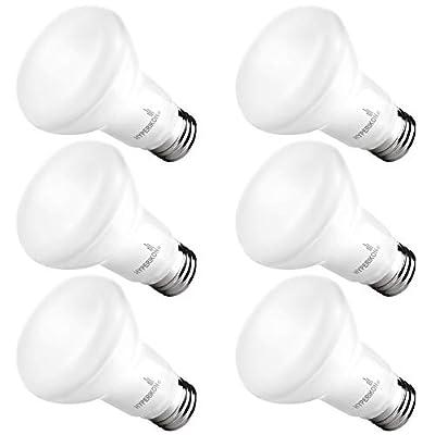 Hyperikon BR20 LED Bulb Dimmable, 7.5W=50W, Wide Flood Light CRI 90+, E26 Base, UL, Energy Star, Daylight White, 6 Pack