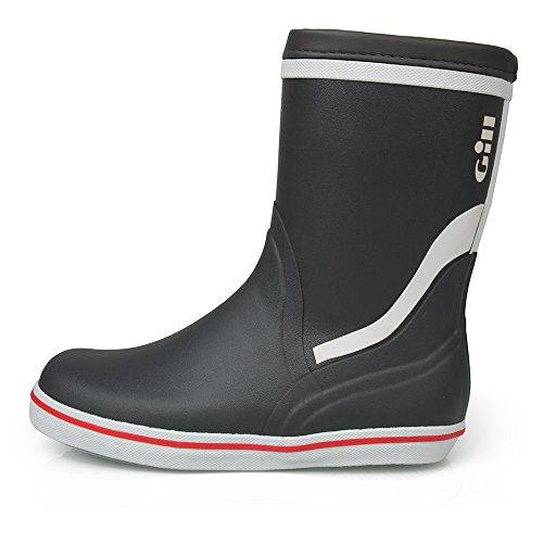 Gill Unisex Segelstiefel Short Cruising Boot 901, Größe:40, Farbe:Carbon