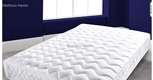 Mattress Haven Memory Foam Sprung Mattress Luxurious Deep Hand Made 4FT - Small double