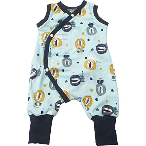 Atelier MiaMia - Mitwachs Strampler Baby Kind von 50, 56, 62, 68, 74, 80, Designer Strampler Limitiert !! lila, Schmetterlinge (62)