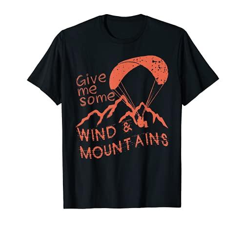 Paragleiter Gleitschirm fliegen T-Shirt