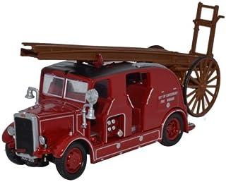 Oxford 1/76 Leyland Cub FK7 Cit/Canterbury Fire Diecast Scale Model