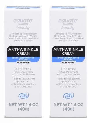 Equate Beauty Anti-Wrinkle Cream, SPF 15