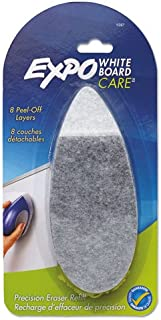 EXPO Products - EXPO - Dry Erase Precision Point Eraser Refill Pad, Felt, 9 3/4w x 3 1/4d - Sold As 1 Each - Convenient replacement pads. - Eight, peel-away layers. -