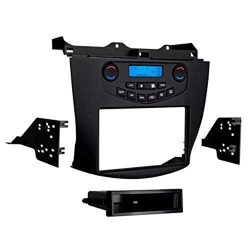 Metra 99-7803G Single/Double DIN Installation Kit with Display for Select 2003-07 Honda Accord Vehicles (Grey)