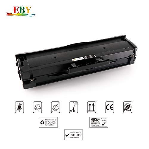 EBY MLT-D111S 111S MLT-D111L Toner Compatible para Samsung Xpress M2026 M2070W M2026W M2020 M2020W M2022 M2022W M2070 M2078W M2070F M2070FW 4 Negro