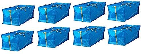 Ikea 901.491.48 Frakta Bolsa de almacenamiento, azul, 8 unidades