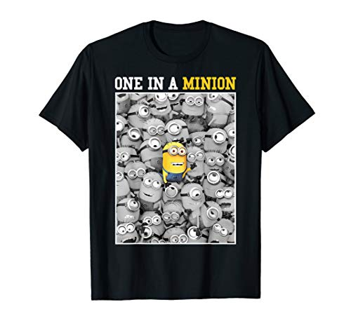 Despicable Me Minions One In A Minion Color Pop Portrait T-Shirt