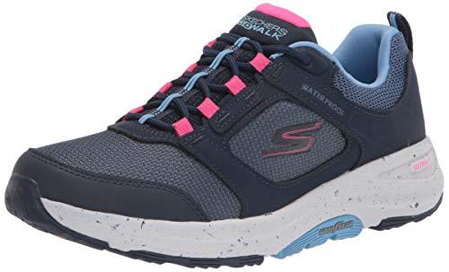 Skechers GO Walk Outdoor, Zapatillas Mujer, Navy, 38 EU