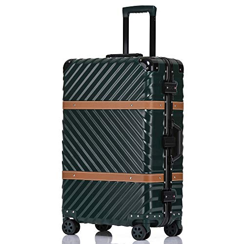 kroeus(クロース)スーツケース ABS+PC 取り外し可能なキャスター TSAロック搭載 海外旅行 出張 キャリーケース Sサイズ機内持ち込可 1年間保証付き 2XL