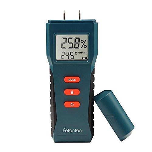 Fetanten Humidité Mètre avec Mouillé Détecteur Testeur Électrique Numérique Multimètre Sensoriel pour...