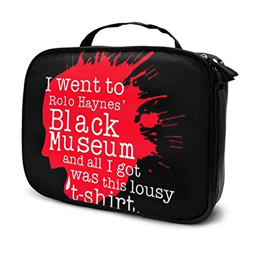 Makeup Bag Cosmetic Pouch I Went to The Rolo Haynes um Black Mirror Multi-Functional Bag Travel Kit