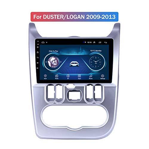 HP CAMP Android 9.1 Navigationsgerät Auto für Renault Dacia 2009-2013, 8 Core Car Radio mit CarPlay/DSP/Rückfahrkamera, unterstützt GPS/RDS/OBD/DVR/DAB,4g WiFi 4g+64g