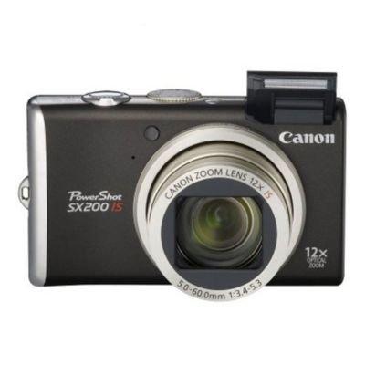 Why Choose Canon PowerShot SX200 is 12.1MP Black Digital Camera